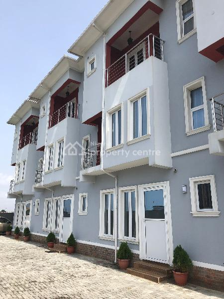 Executive 4 Bedroom Terrace Duplex with Bq, Before Chevron, Lekki, Lagos, Terraced Duplex for Sale