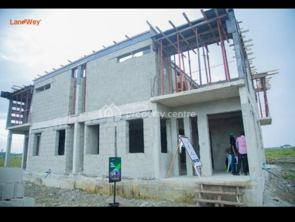 2 Bedroom Terrace, Monastery Road,  Behind Novae Mall, Sangotedo, Ajah, Lagos, Terraced Duplex for Sale
