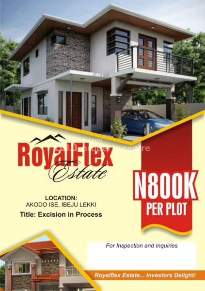 a Plot of Land, Beside Lacampange Tropicana, Folu Ise, Ibeju Lekki, Lagos, Mixed-use Land for Sale