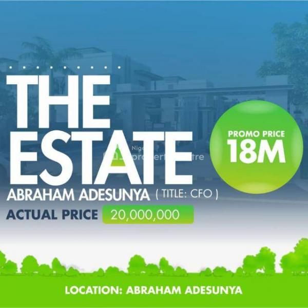 Lands, Abraham Adesanya Roundabout, Ogombo, Ajah, Lagos, Residential Land for Sale