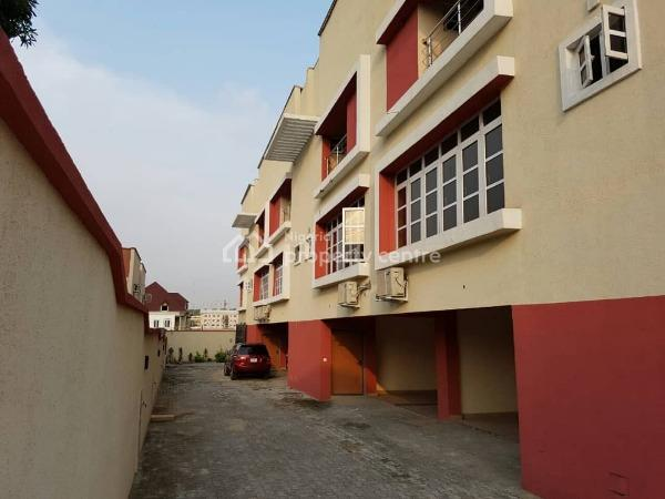 Well Finished 4bedroom Terrace Duplex for Sale at Ikeja, Opebi, Ikeja, Lagos, Terraced Duplex for Sale