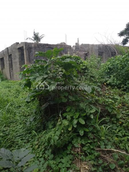 a Plots of Land with Solid Structure Up to Decking Level on Each, Off Cele Bus Stop, Egbe, Lagos, Mixed-use Land for Sale
