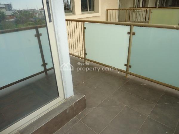 Luxury 3 Bedroom Pent-floor Maisonette with Basic Facilities, Osborne Phase 2, Osborne, Ikoyi, Lagos, Flat for Rent