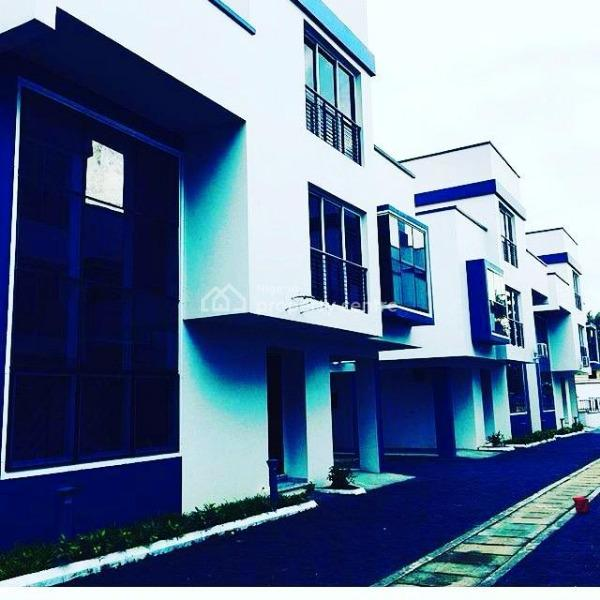 Brand New Communal Living Detached  8 Units 4 Bedroom Ensuite House, Old Ikoyi, Ikoyi, Lagos, Detached Duplex for Sale
