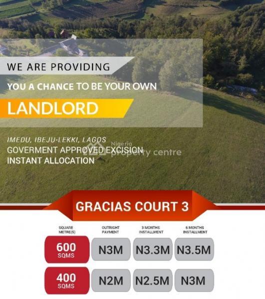 Gracias Ocean View, Ibeju Lekki, Ibeju Lekki, Lagos, Land for Sale