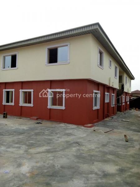 Newly Built 4units 3bedroom Flat at Ikotun Abarenje Road Off Aso Rock Bus Stop Ikotun, Costoms Bus Stop Ikotun Abaranje Lagos, Ijegun, Ikotun, Lagos, Block of Flats for Sale