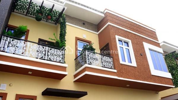 Newly Built and Well Finished with Architectural Designed Most Luxurious Executive 4 Bedroom Semi Detached Duplex, Lafiaji, Lekki, Lagos, Semi-detached Duplex for Sale