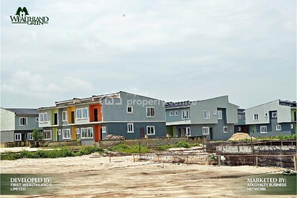 Own a Luxurious Dream Home with Just N1m Deposit, Oribanwa, Ibeju Lekki, Lagos, Terraced Duplex for Sale