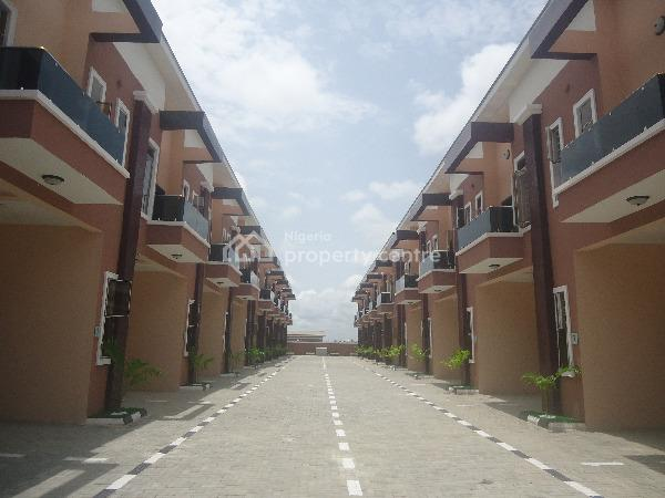 Luxury 4 Bedroom Terrace Duplex with Excellent Facilities, Chevron Alternative Drive, Chevy View Estate, Lekki, Lagos, Terraced Duplex for Sale