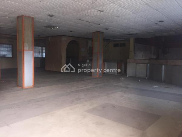 (pg062)400 Sqm Commercial Ground Floor Space, Opebi, Ikeja, Lagos, Office Space for Rent