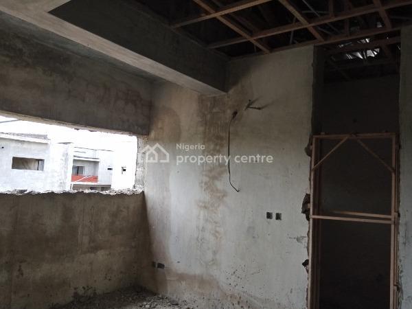 Carcass 3 Bedroom Semidetached Duplex @ Diamond Estate - Sangotedo, Beside Novare Mall - Shoprite, Sangotedo, Ajah, Lagos, Semi-detached Duplex for Sale