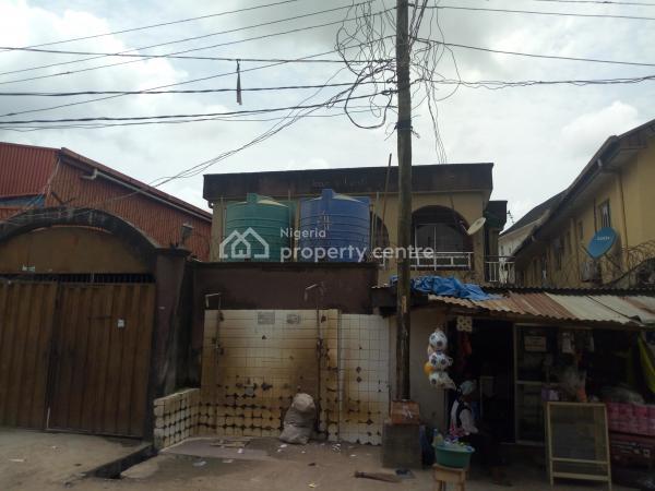 Block of 4 Flats on 3 Bedroom, Old-ewu Road, Mafoluku, Oshodi, Lagos, Block of Flats for Sale