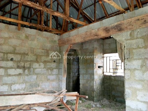 Uncompleted 2 Bedroom Flat, Gomo Palace Road, Agwan Gede Extension, Kuje, Abuja, Detached Bungalow for Sale