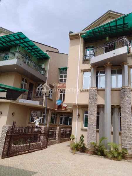 Newly Built 4 Bedroom Terrace Duplex, Close to The Main Road, Katampe (main), Katampe, Abuja, Terraced Duplex for Rent