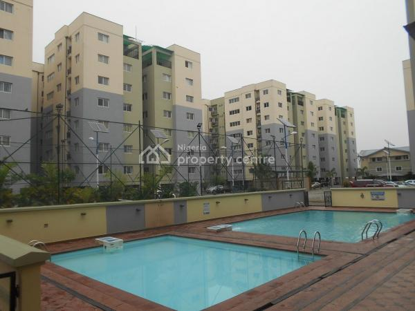 Luxury 3 Bedroom Serviced Apartments  with a Room Bq, Prime Water Gardens, Lekki Phase 1, Lekki, Lagos, Flat for Rent