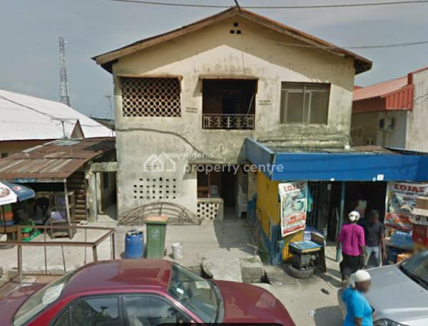 an Old Building Demolish-able on Almost Full Plot, Eletu Odigbo, Abule Ijesha, Yaba, Lagos, Detached Duplex for Sale