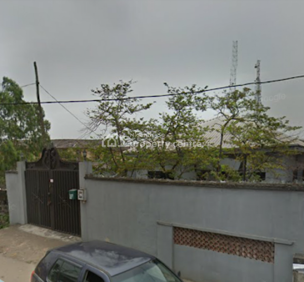 a Well Built Bungalow on Almost Full Plot, Isaac John Street, Jibowu, Yaba, Lagos, Detached Bungalow for Sale