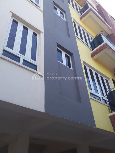 Luxury 3 Bedrooms Apartment with Maiden Room, Behind Sweet Sensation, Alagomeji, Yaba, Lagos, Block of Flats for Sale