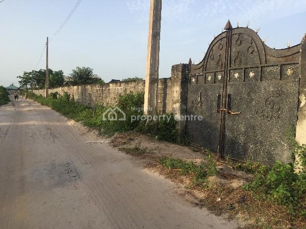 One Acre of Land. (dry and Fenced), Alatise, Ibeju Lekki, Lagos, Residential Land for Sale