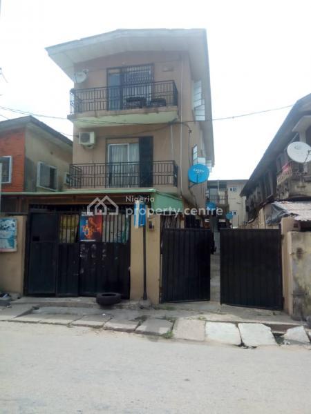 Block of 6 Mini Flats, Room Self and Shop, Aturase Street, Idi Araba, Surulere, Lagos, Block of Flats for Sale
