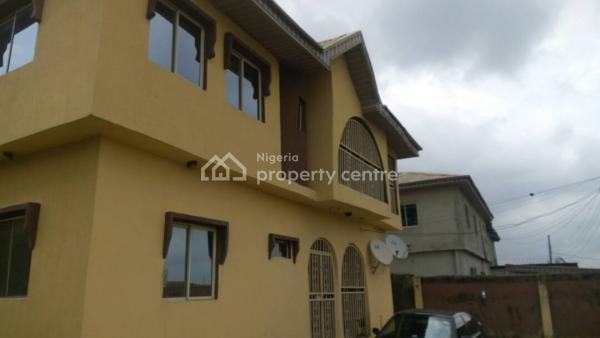 Clean 3 Bedroom Duplex with 2 Units 3 Bedroom Flat Behind and a Bq, at Aboru, Iyano Ipaja, Egbeda, Alimosho, Lagos, Detached Duplex for Sale