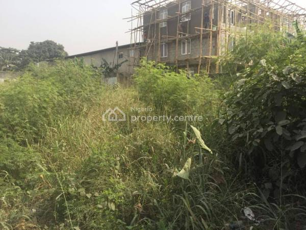 4 Plots of Land, Okota, Isolo, Lagos, Commercial Land for Sale