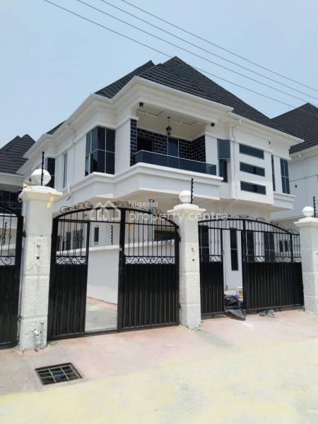 Brand New Executive and Exquisitely with Superb Finishing 5 Bedroom Self Compound with and in Built Bq, Lekki Phase 1, Lekki, Lagos, Detached Duplex for Sale