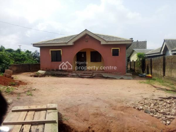 Affordable 4 Bedroom Flat 42 By 100, Ait Road, Alagbado, Ipaja, Lagos, Detached Bungalow for Sale