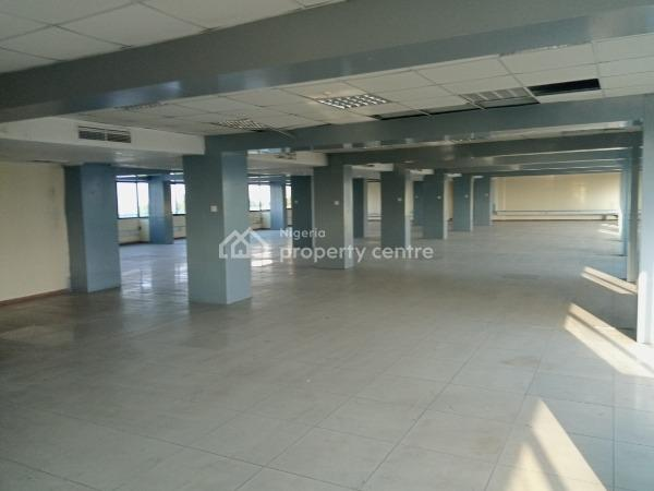 Fully Serviced Open Plan & Furnished Office Spaces with 24/7 Security & Electricity Supply, Kings Way, Falomo, Ikoyi, Lagos, Office Space for Rent