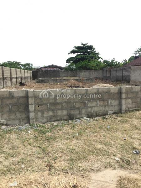 Fenced with Gate Full Plot of Land, Off Ado Road, Oke Ira, Ajah, Lagos, Residential Land for Sale