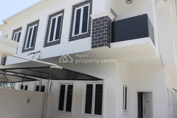 Well Finished 4 Bedroom Semi Detached House with a Boys Quarter, Signature Estate, Chevron Alternative, Chevy View Estate, Lekki, Lagos, Semi-detached Duplex for Sale