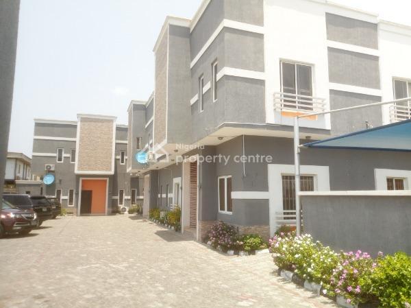 a Nice Serve 3 Bedroom Terraced Duplex, Lekki Phase 1, Lekki, Lagos, Terraced Duplex for Rent