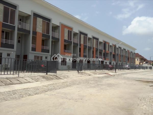 Serviced Brand New 4 Bedroom Terrace + Bq + Pool + Gym, Lekki Phase 1, Lekki, Lagos, Terraced Duplex for Sale