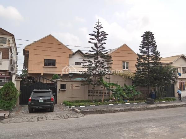 Well Improved 4 Bedroom Twin Duplex with a Room Boyquarter, Off Prince Adedeji Adenowo Street, Lekki Phase 1, Lekki, Lagos, House for Sale