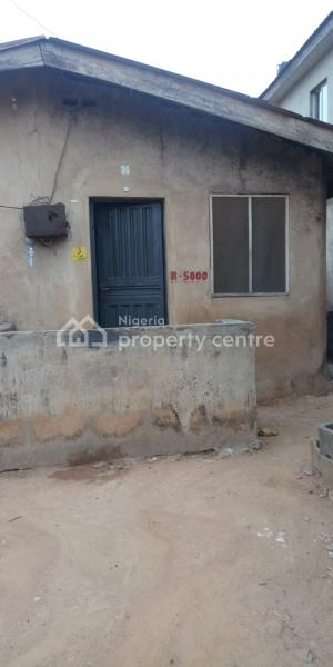 a Bungalow Consisting of 2 Bedroom and a Room Self, Edun, Aboru, Ipaja, Lagos, Semi-detached Bungalow for Sale