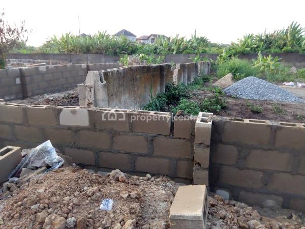 Land Size of 620sqm (fenced Round) in a Mini Estate Inside Magboro,, Magboro, Ogun, Residential Land for Sale