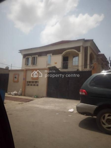 5 Bedroom Duplex with 2nos of 3 Bedroom Flat, 57, Martins St, Ijeshatedo, Ijesha, Lagos, Block of Flats for Sale