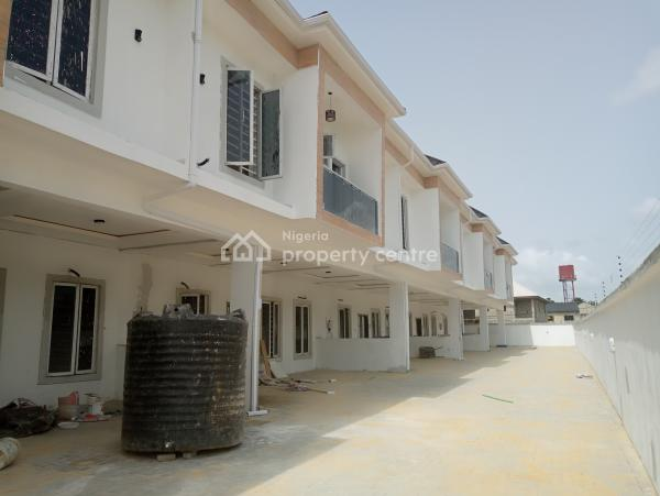Luxury 4 Bedroom Terrace Duplex with 24 Hours Light, After Chevron Toll Gate, Lekki, Lagos, Terraced Duplex for Sale