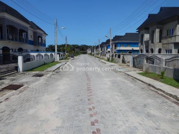 3 Bedroom Terrace Home (carcass/shell), Atian Beachview Estate, Off Lekki-epe Expressway, Abraham Adesanya, Ogombo, Ajah, Lagos, Terraced Duplex for Sale