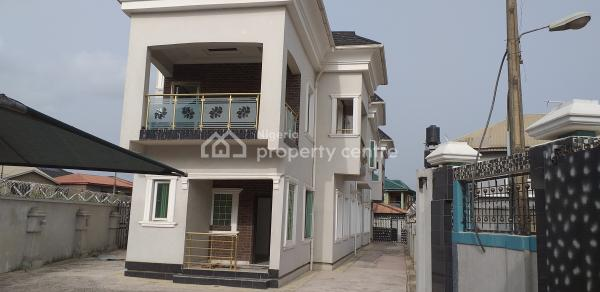Tastefully Finished 4-bedroom Terrace House with Penthouse & Bq, Gra Scheme 1, Oko-oba, Agege, Lagos, Terraced Duplex for Rent