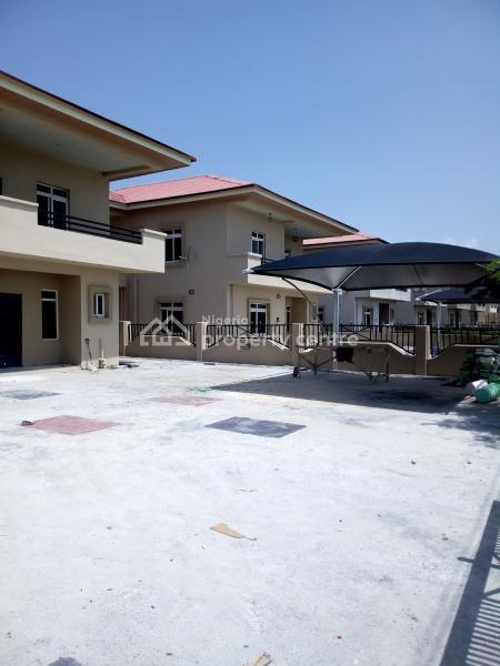 24hrs Light Service Apartment Brand New 5 Bedroom Duplex with Bq Self Compound, Beachwood/adiva Estate, Malete, Ibeju Lekki, Lagos, Detached Duplex for Rent