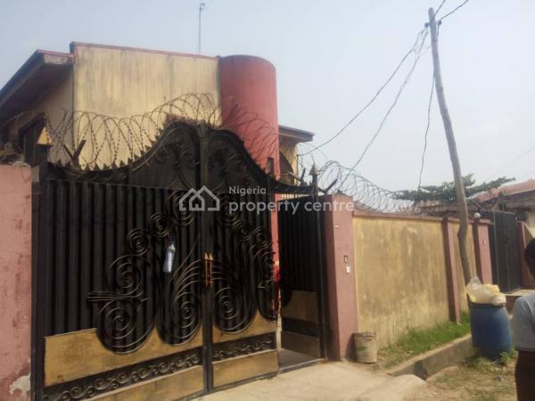 6 Bedroom Duplex on 1 & Half Plot of Land, Isolo Road, By Jakande Gate, Oke Afa, Isolo, Lagos, Detached Duplex for Sale