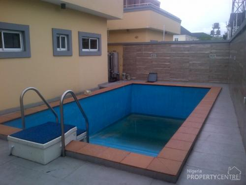 For Sale Brand New Superbly Finished 5 Bedroom Detached House With Swimming Pool Off