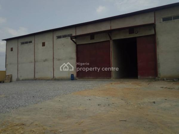 Warehouse Measuring 1025 Sqm Floor Space, Berger, Arepo, Ogun, Warehouse for Rent