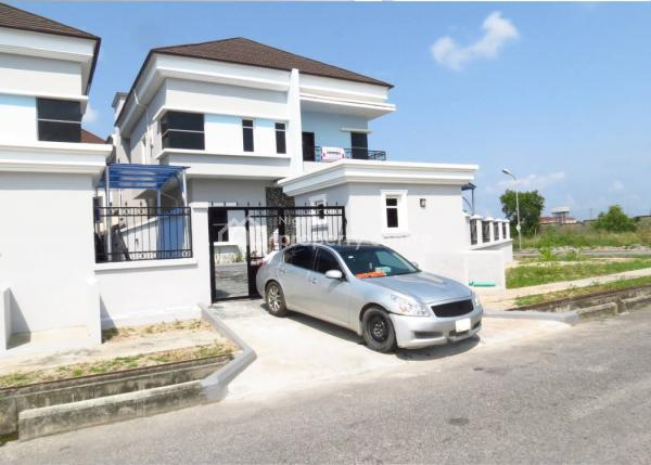 a Luxury Finished 5 Bedroom House with a Room Boys Quarters, Prime Rose Pinnock Beach Estate, Osapa, Lekki, Lagos, Detached Duplex for Sale