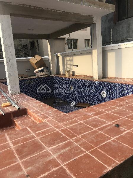 Luxury 4 Bedroom Terrace Duplex with B.q, Ikate Elegushi, Lekki, Lagos, Terraced Duplex for Rent