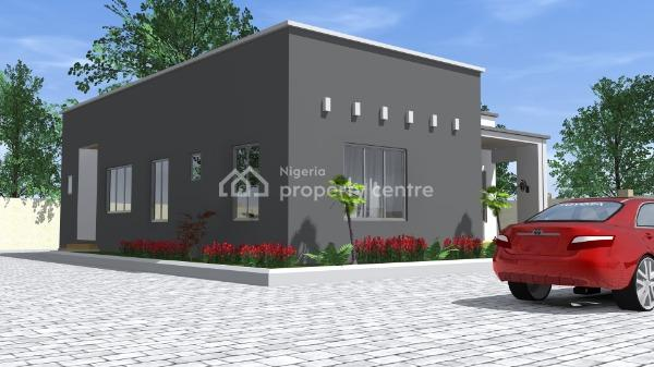 3 Bedroom Bungalow, Sow Residences, Orozo District By Cajaar Estate, Cbn Estate, Orozo, Abuja, Detached Bungalow for Sale