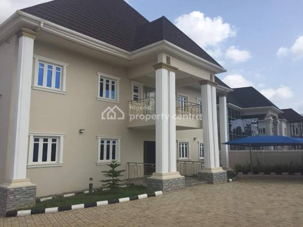 a Classy 5 Bedroom Duplex with I Bedroom Bq, Swimming Pool, Gym Room, Laundry, Library/study Room, Swimming Pool Bar, Basement 150m, Prince and Princess Estate, Gaduwa, Abuja, Detached Duplex for Sale