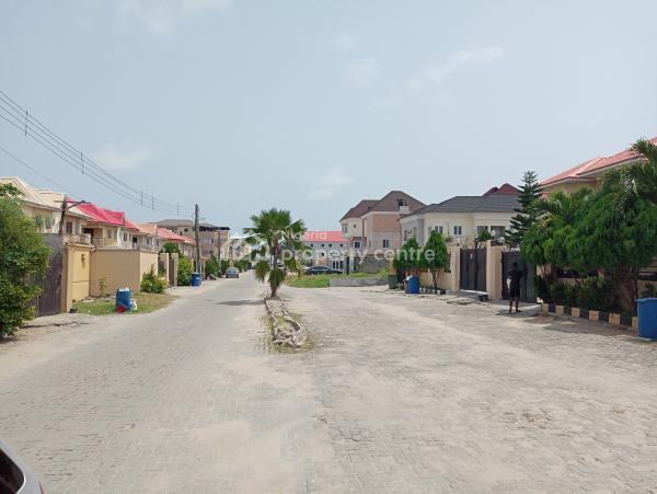 Prime Fenced 2 Plots of Land. Gov-consent, Admiralty Homes Estate, Off Alpha Beach Road, New-road Bstop, By Chevron, Lekki, Lagos, Residential Land for Sale