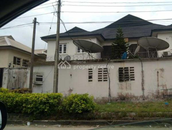 2 Wings of 7 Bedroom Detached Duplex  + Bq, Lekki Phase 1, Lekki, Lagos, Detached Duplex for Sale